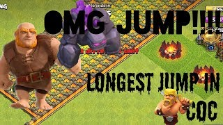 Clash of Clans - THE LONGEST JUMP (W/5 - Jump Spells) Ananaygupta