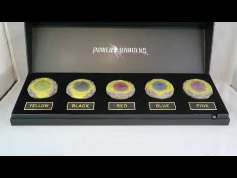 Power Rangers 2017 Movie Legacy Power Coin Set w/ Light Up Display Review