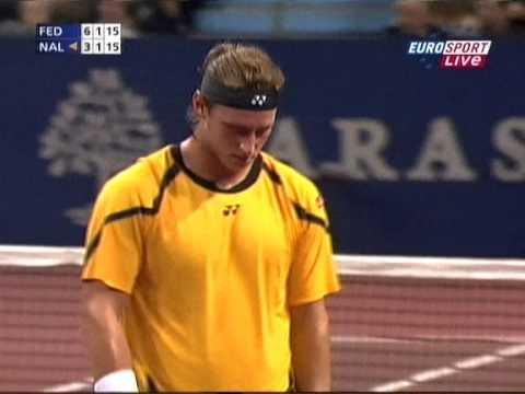 Basel 2008 Final - Roger Federer vs David Nalbandian