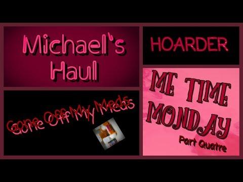 me-time-monday-part-quatre-~-michael's-haul-~-gommtube-#209
