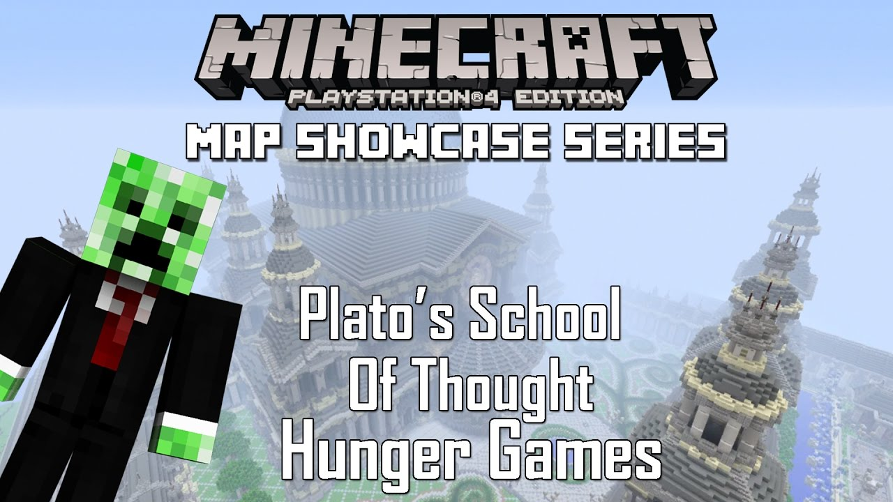 Minecraft PS3 PS4 Plato\'s School of Thought Hunger Games ...