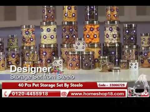 40 Pcs Pet Storage Set By Steelo Youtube
