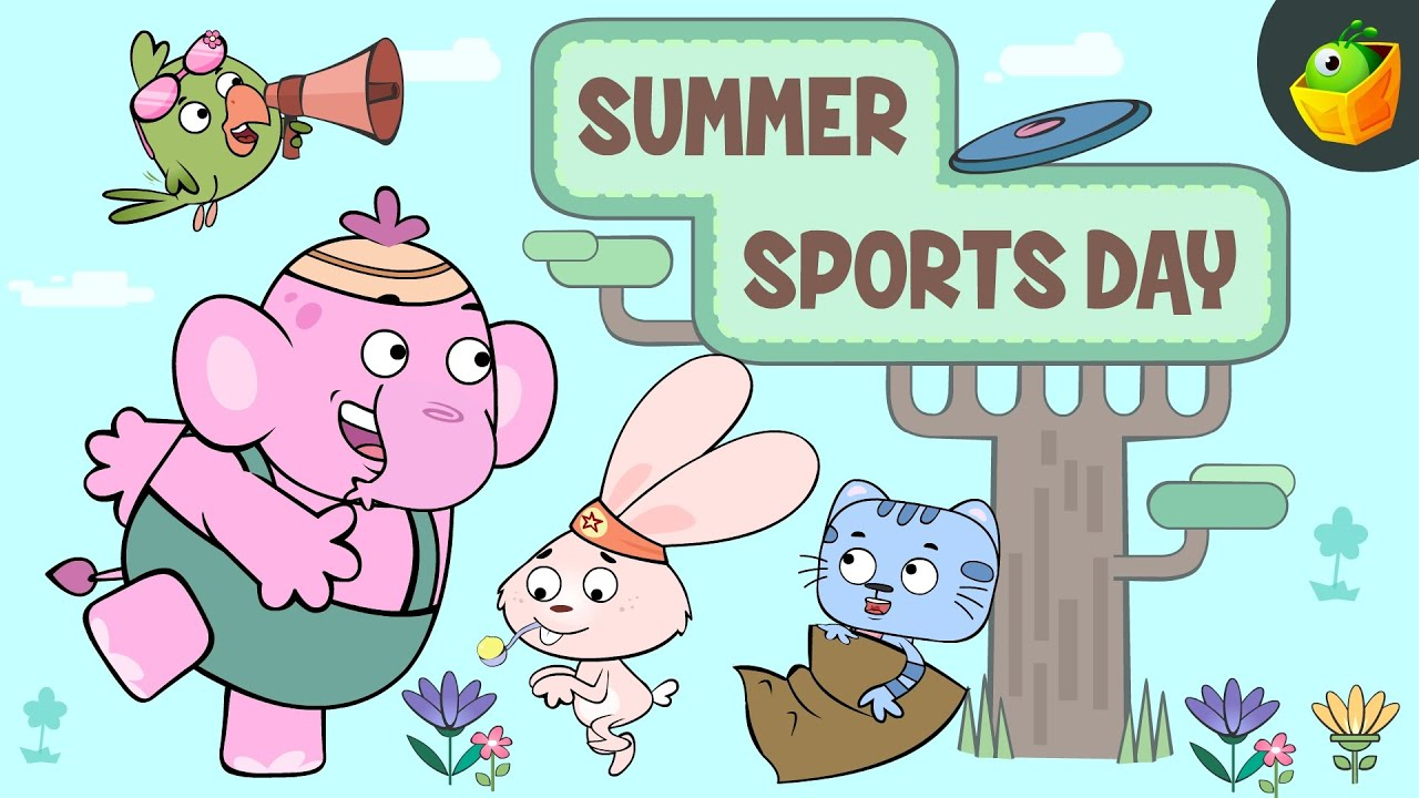 Summer Sports Day   Charlie and friends   Episode 4   English Short Stories