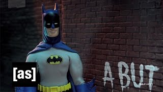 Batman Faces Palindrome | Robot Chicken | Adult Swim