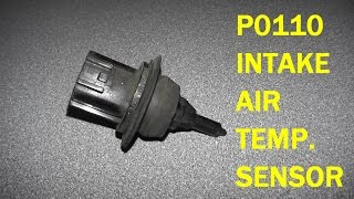 How To Test and Replace Intake Air Temperature Sensor P0110  HD