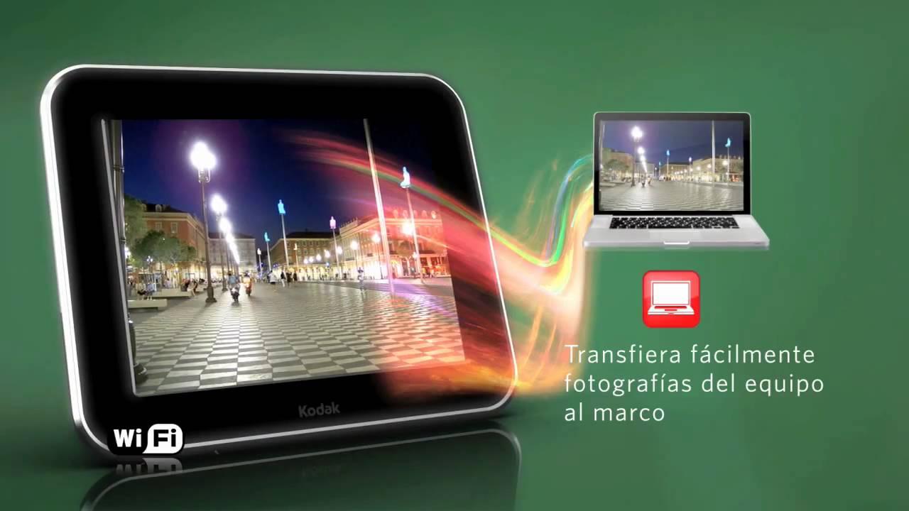Dorable De Fotos Digital Marco De Wifi Patrón - Ideas Personalizadas ...