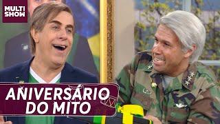 Tomsonaro ganha FESTA SURPRESA de aniversário!   Multi Tom   Humor Multishow