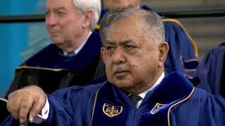 Notre Dame Commencement 2018: Kamal Hossain