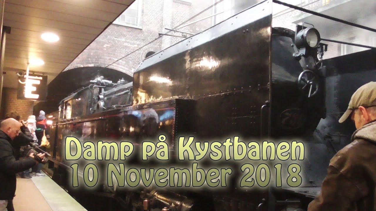 Damp På Kystbanen 1011 18 Danmarks Jernbanemuseum Youtube