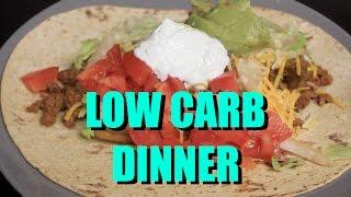 FlatOut Tacos | Low Carb | Cooking w/ Cupcake