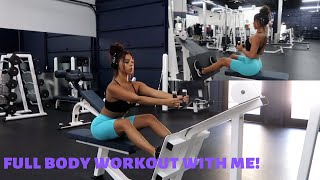 my FULL body workout routine