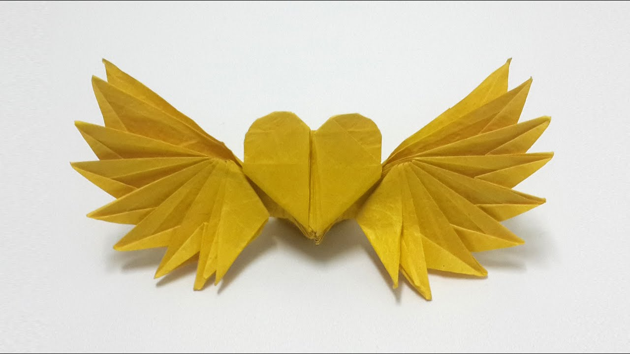 Origami Winged Heart tutorial (Henry Phạm) - YouTube - photo#47