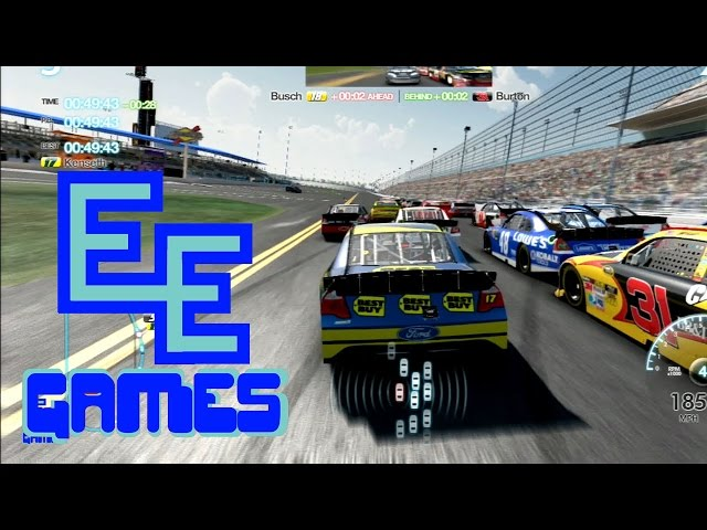 NASCAR Inside Line Gameplay and Commentary - Double E Games