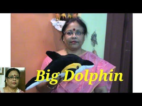 Handmade Soft Toys Big Dolphin Making/Debjani Creations Tutorial