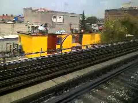 Metro Cdmx Linea 4 De Santa Anita A Martin Carrera Youtube