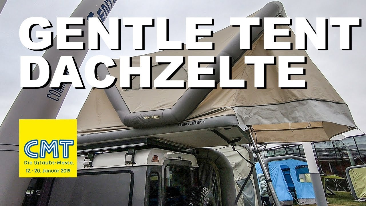 8601e6f113 CMT 2019 - Dachzelte von Gentle Tent I 4x4 Passion  126 B - YouTube