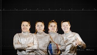 French women's team sabre // Road to Tokyo 2020