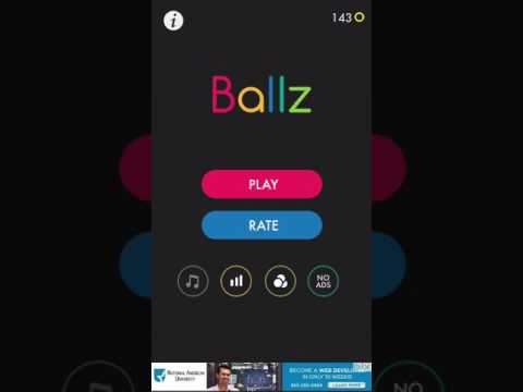 BALLZ UNLIMITED HIGH SCORE GLITCH(works on IOS AND ANDROID)