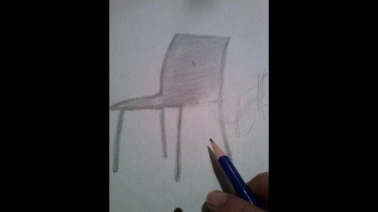 C mo dibujar una silla clasica sencilla how to draw a for Sillas para dibujar