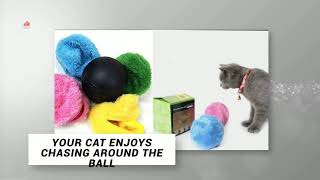 Cheap Cat Toys your cat enjoys - Automatic roller ball