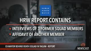 Ex mayor behind death squad in Tagum   report