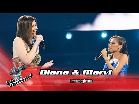 Diana Castro & Marvi - 'Imagine'   Gala   The Voice Portugal