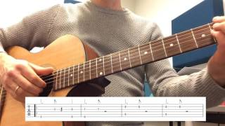 DNCE - Almost (Guitar Tutorial Tab)
