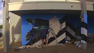 Westfield Manukau Mural - Charles & Janine Williams