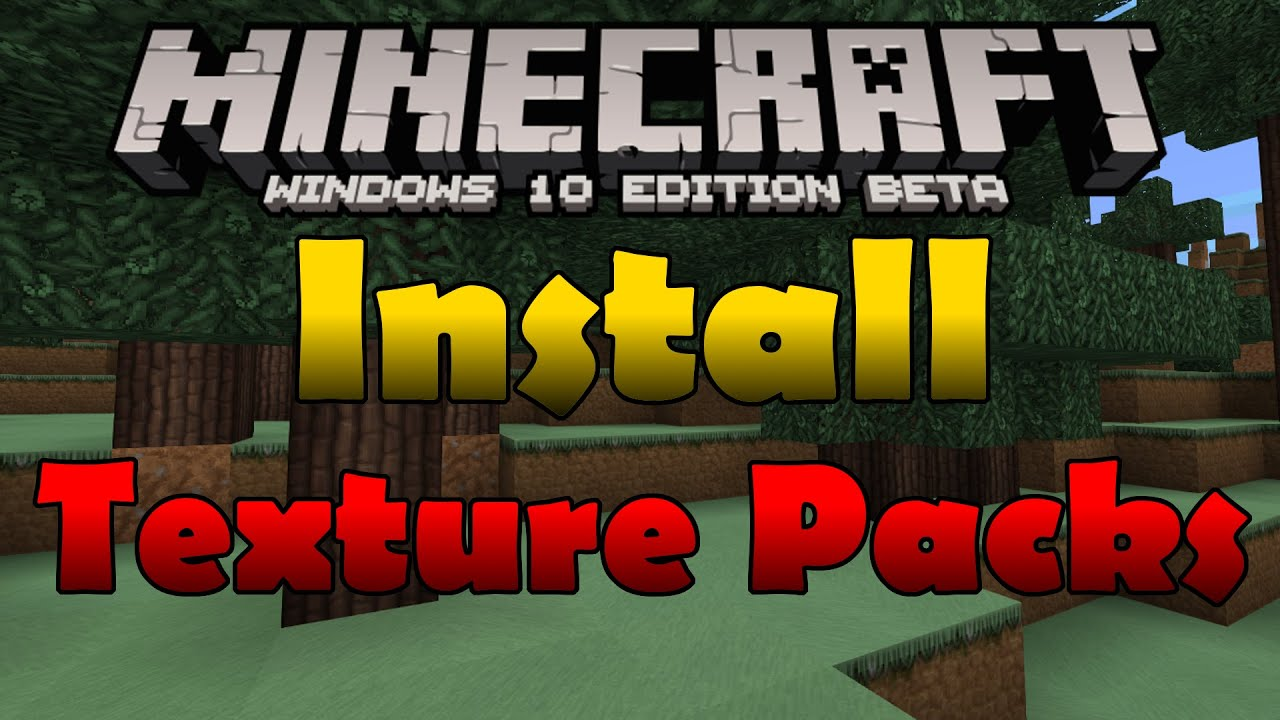 1.2.8 How to Download/Install Texture Packs in Minecraft ...