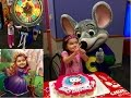 Lucy's 3rd Birthday at Chuck E Cheese