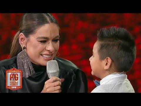 La sorpresa de Giovani que hizo llorar a Galilea en Pequeños Gigantes 2019