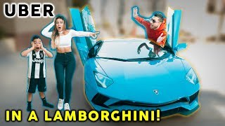 Gambar cover Picking Up Uber Riders In a LAMBORGHINI! **SO FUNNY** | The Royalty Family