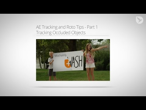 After Effects Tutorial: Tracking Occluded Objects with mocha - AE Tracking and Roto Tips - Part 1
