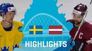 Sweden - Latvia | Highlights | #IIHFWorlds 2017