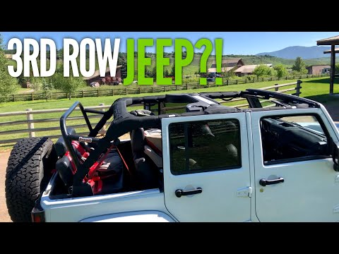 Jeep Wrangler 3rd Row Install & Mods / Family of 6's RV Tow Vehicle