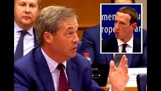 Farage: Who decides what's politically acceptable, Mr Zuckerberg?