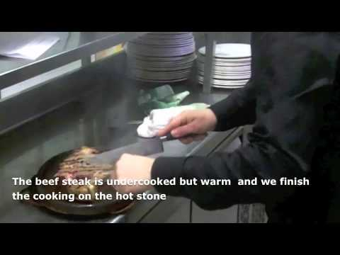 How To Cook Beef Steak On Hot Stones.V.O.S.