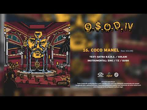 Satra B.E.N.Z. - Coco Manel feat. GOLANI (Audio)
