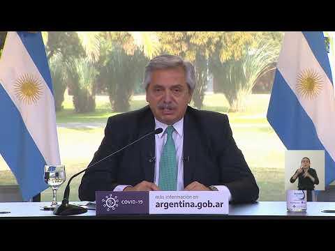 Alberto Fernández anunció que la cuarentena continúa hasta el 16 de agosto