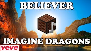 Imagine Dragons - Believer | Minecraft Bloques Musicales Mp3