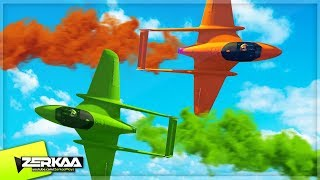 CRAZY PLANE WAR! (GTA 5)