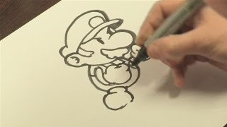 How To Draw Mario Of Mario Bros