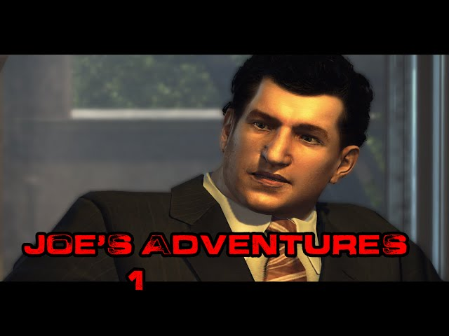 Minhas Aventuras jogando: Mafia II - Joe's Adventures #1: A testemunha ?