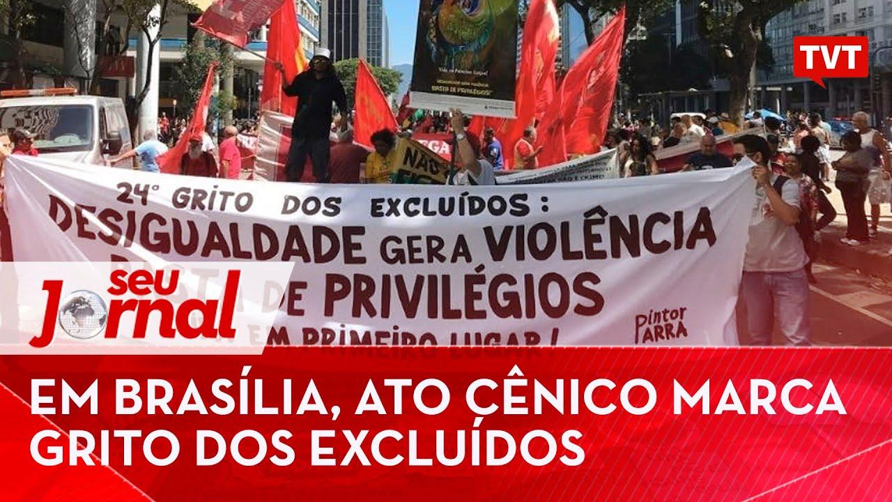Brasília: ato cênico em defesa da vida