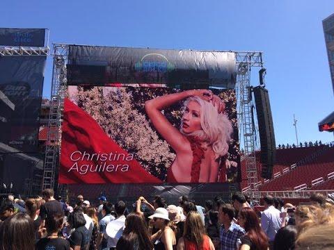 Christina Aguilera -  Cisco Rocks live.