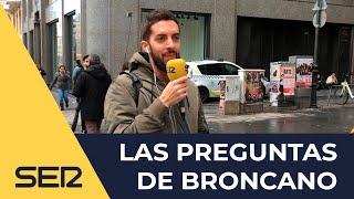 Las preguntas de Broncano: Recogidas de firmas