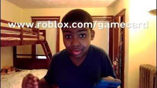 First one to see this video will get free roblox giftcard giveaway (not clik bait) i promise