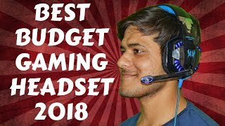 Best Budget Gaming Headset- |Rs1200/-| For PS4, PC, LAPTOP-2018