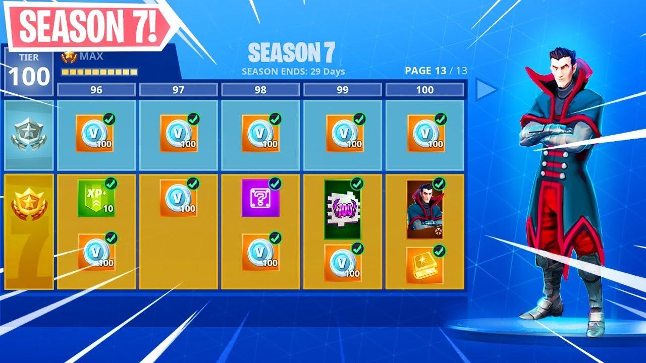 New Season 7 Skins Early Fortnite Battle Royale Youtube