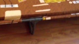 """Раскладушка с матрасом """"Мария М-30"""". Обзор раскладных кроватей и раскладушек."""